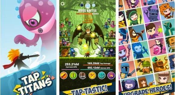 Tap Titans, Game RPG Android Terbaik dan Terpopuler Tahun 2015