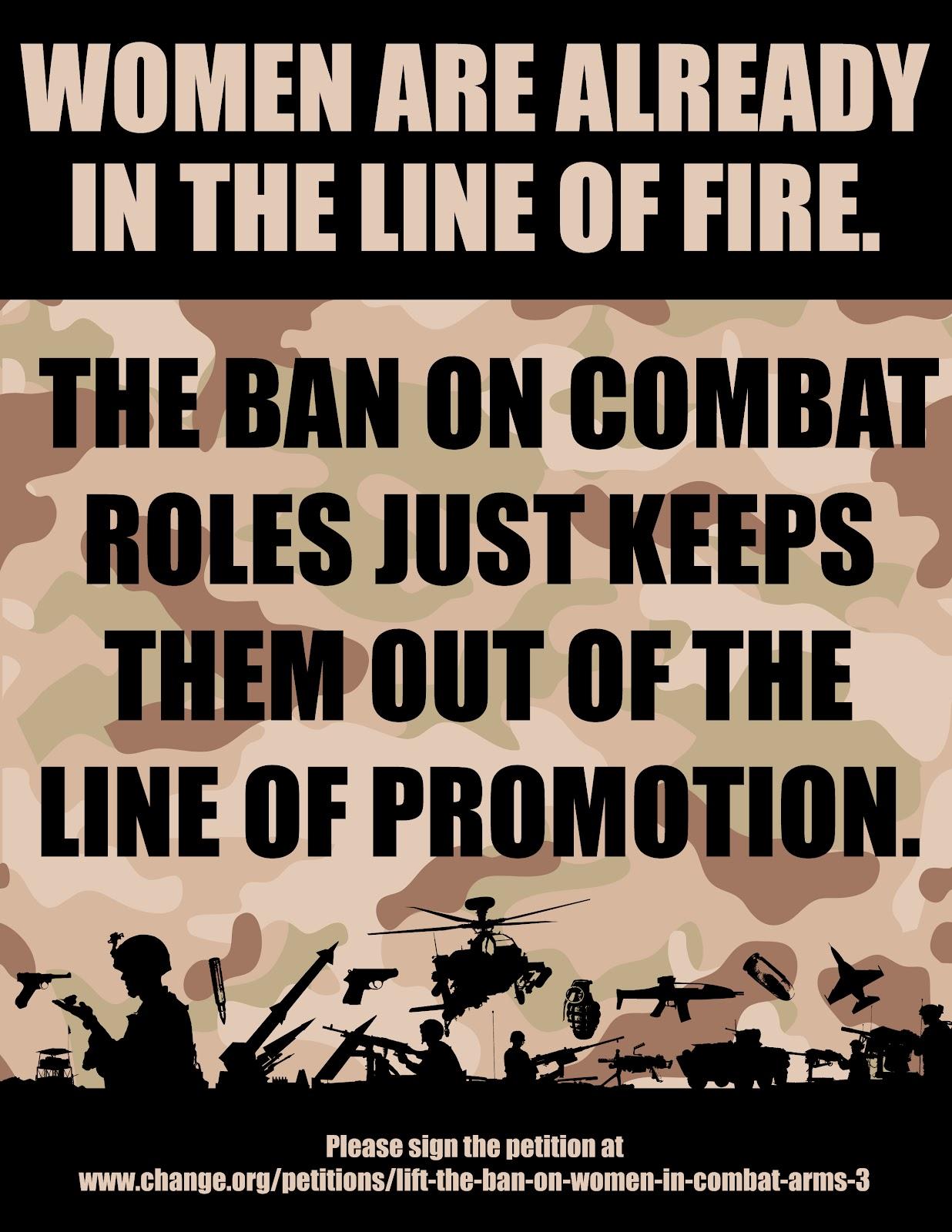 women in combat thesis