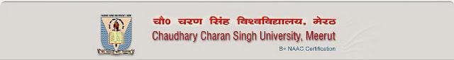 Chaudhary Charan Singh University CCS Results 2013