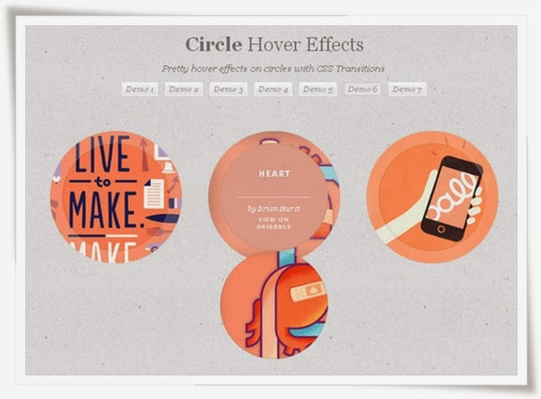 Circle Hover Effects with CSS Transitions
