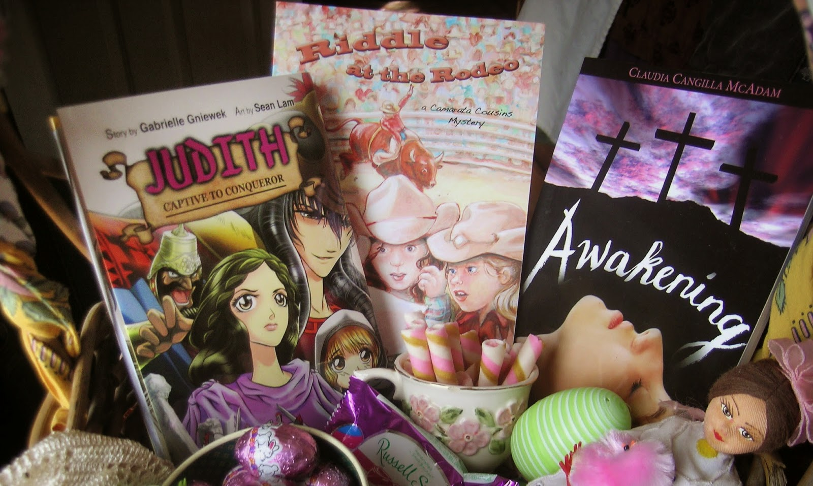 Easter basket tour tween girls chestertonpress specially for this easter i am pleased to offer one of my daughters fav reads the mystery riddle at the rodeo by claudia cangilla mcadam also known as negle Images