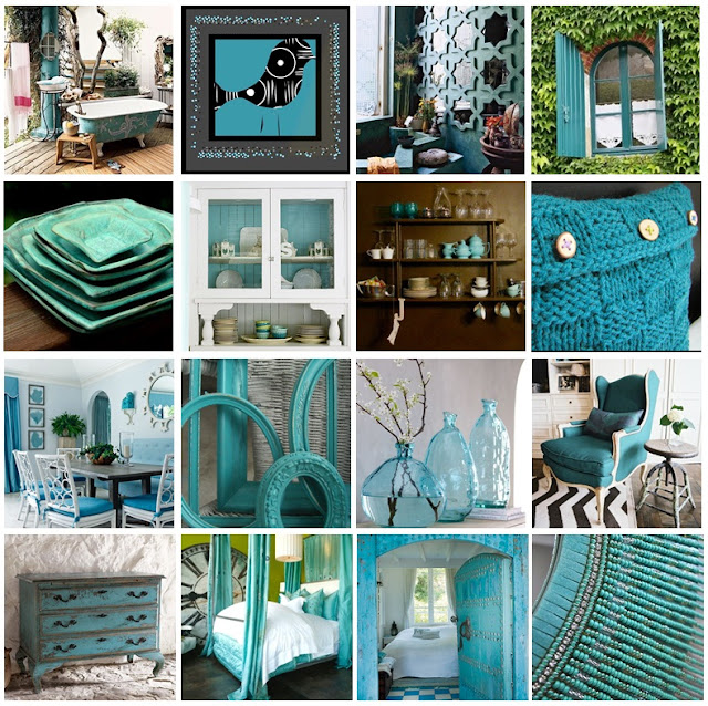 Home Decorista: Turquoise Home Decorations