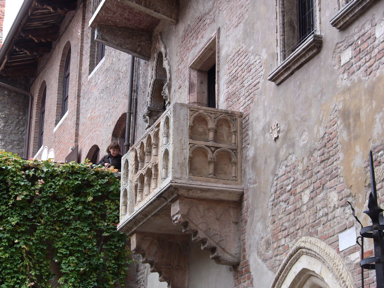 Don't be fooled by Juliet's balcony, it was added only recently in 1928 by the Verona City Council. Photo: Gail Keller, WineTrekkerTV.com