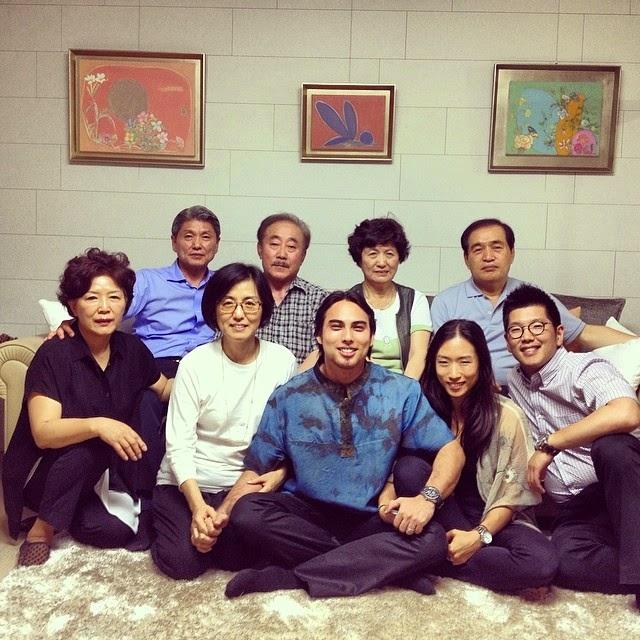 Anniversary Setahun, Jehan Miskin Ke Korea Temui Keluarga Isteri