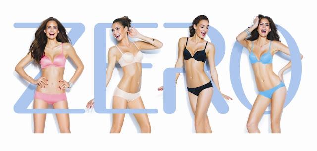 Sloggi Zero, comfort & Freedom, lingerie, ladies underwear, bra, panties