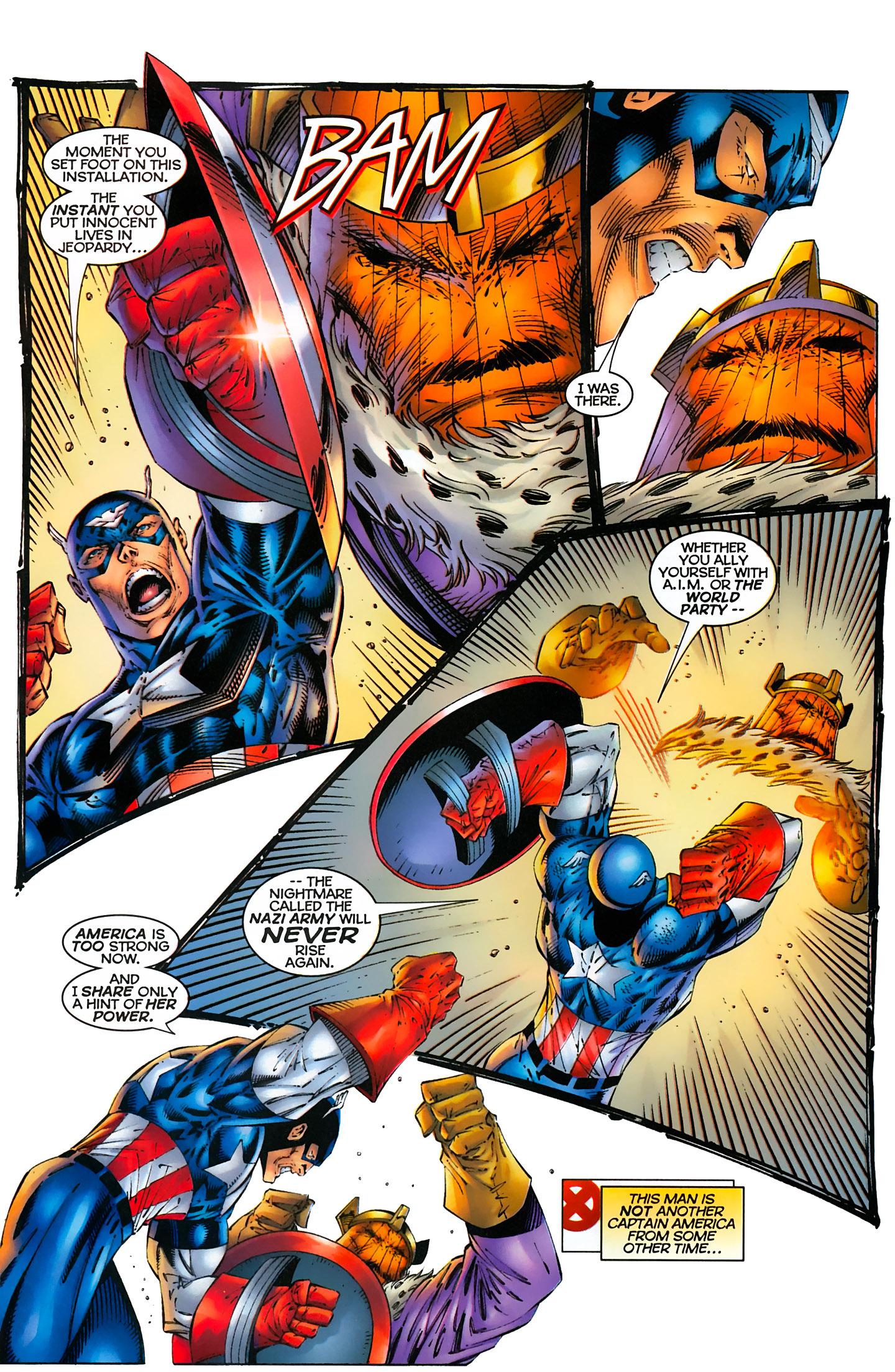 Captain America (1996) Issue #6 #6 - English 14
