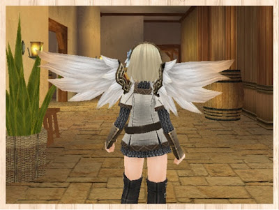 白妙の翼 後ろ姿