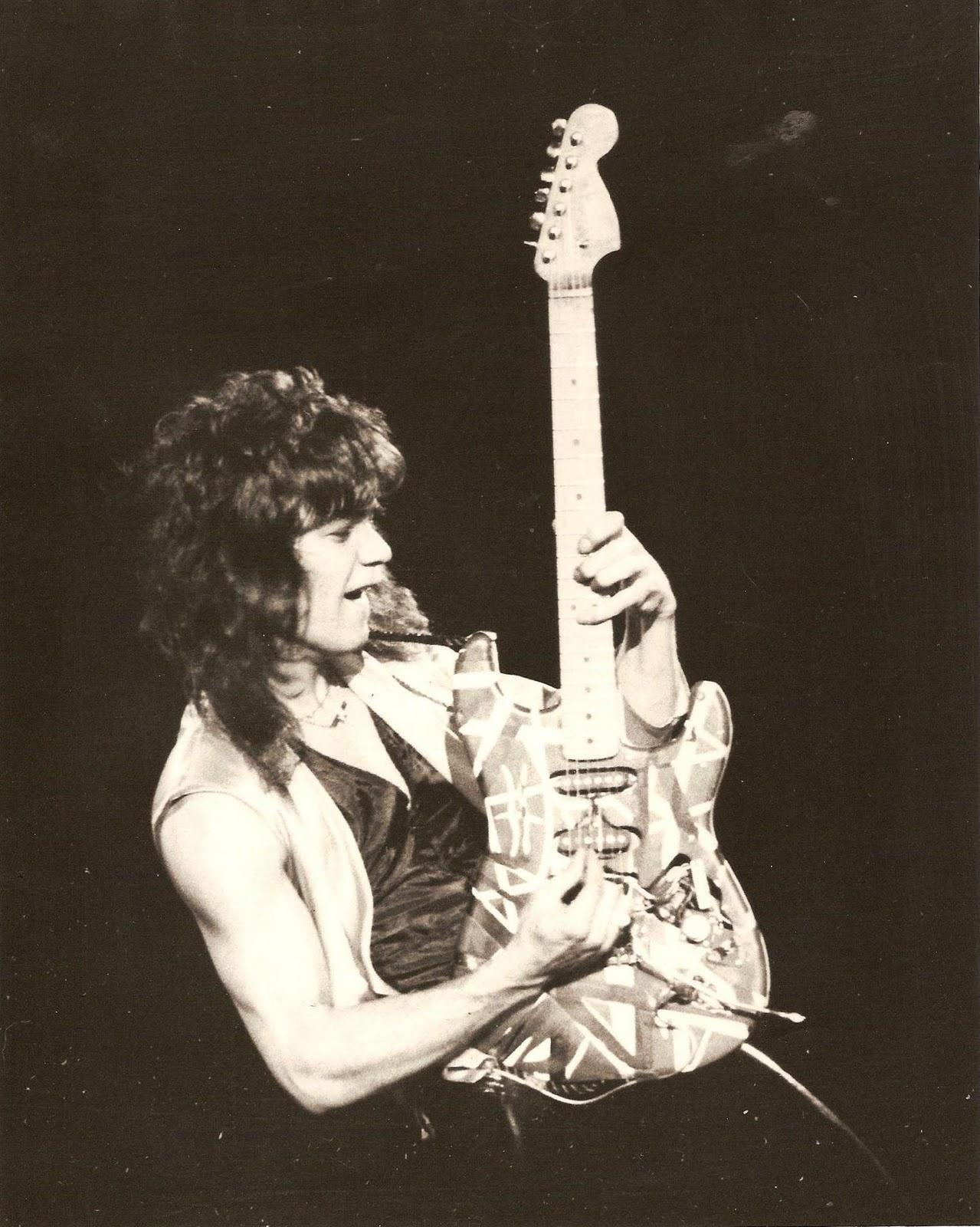Young Eddie Van Halen My introduction to the mighty van halen editing ... Eddie Van Halen Young