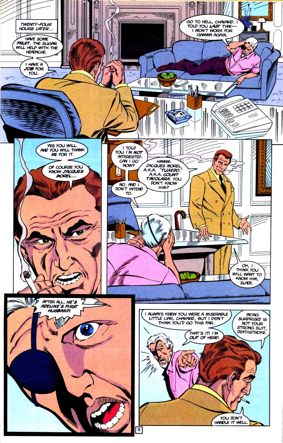 Deathstroke (1991) Issue #32 #37 - English 10