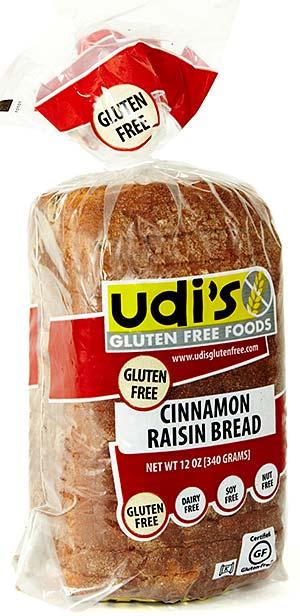 Gluten Free Vancouver Island: Udi's Cinnamon Raisin Bread