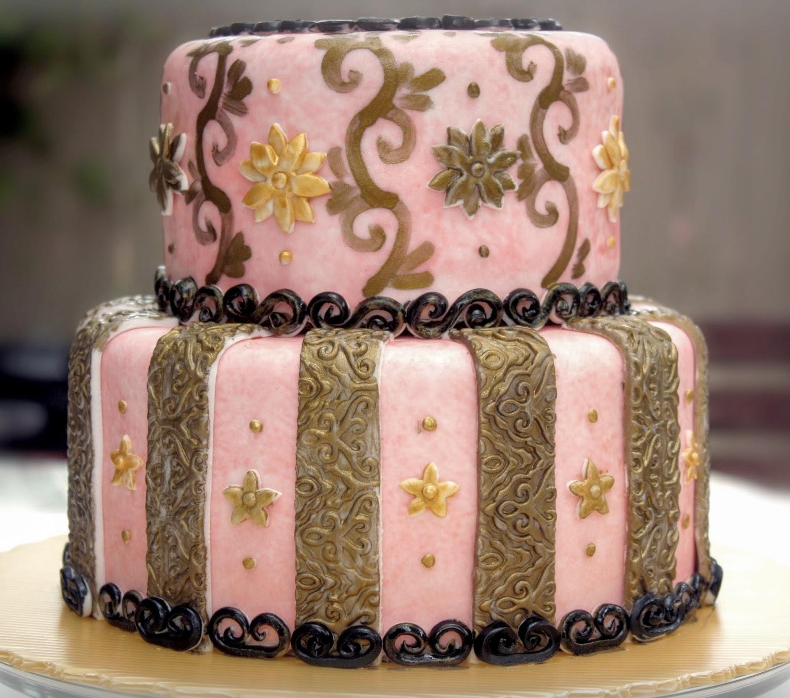 Art of Dessert Tutorial My Birthday Cake