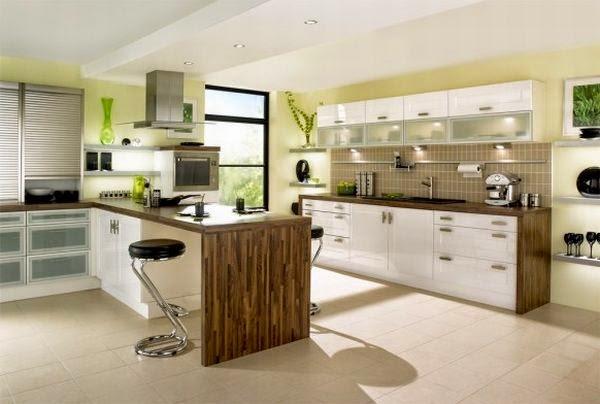 Desain Ruang Makan Minimalis Warna Putih