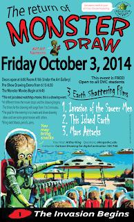 Monster Draw Blog