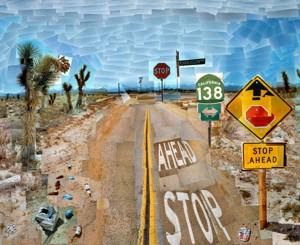 David Hockney, Pearblossom Highway