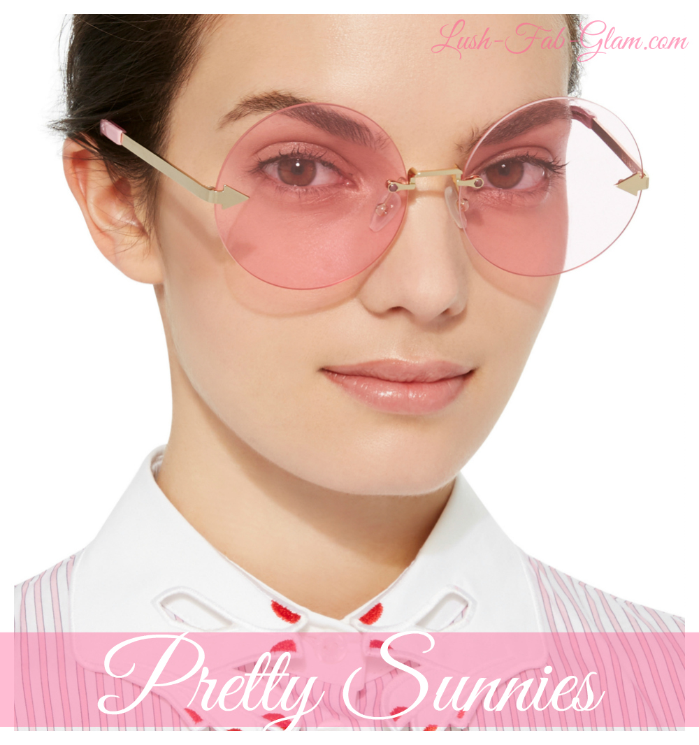 Accessories Crush: Pretty Sunnies For Spring & Summer.