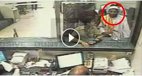 Amazing, VIDEO, cctv footage, amazing man robbery in bank, bank robbery cctv footage, cctv footage, karachi , cctv footage of karachi bank robbery,
