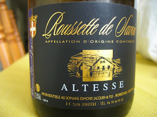 Label photo of 2010 Domaine Edmond Jacquin Roussette de Savoie Altesse