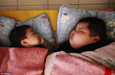 Lu Hao, bayi tergemuk