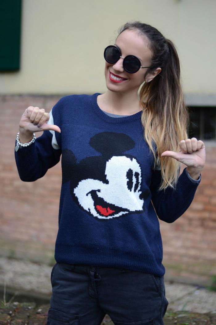 maglione topolino