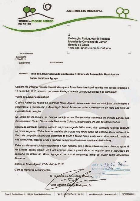 ASSEMBLEIA MUNICIPAL de SOBRAL MONTE AGRAÇO - VOTO LOUVOR a RAFAEL GIL