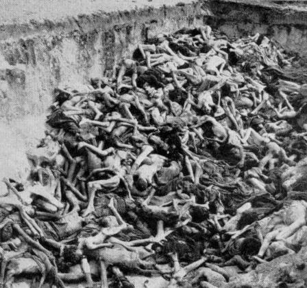 Bodies at Bergen Belsen