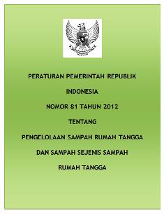Peraturan Pemerintah Nomor 81 Tahun 2012