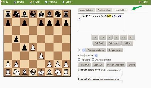 Cara posting permainan catur kita ke Website