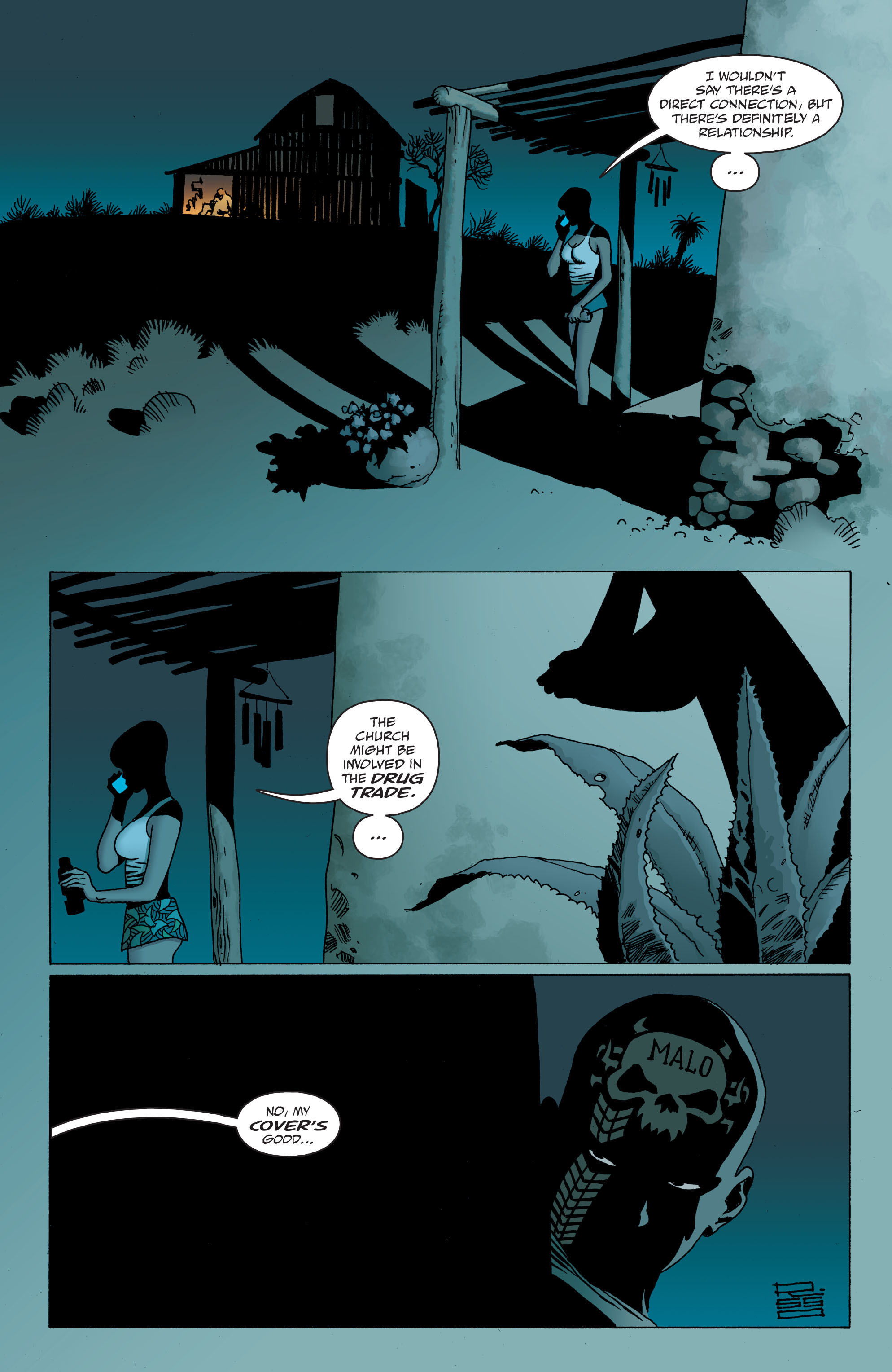 100 Bullets: Brother Lono Full Page 99