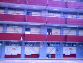 Frente del edificio de la escuela