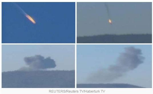 Turki Tembak Jatuh Pesawat Rusia