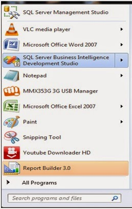 microsoft business intelligence step by step creating ssrs report