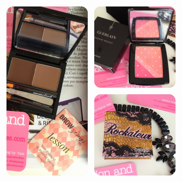 Sephora haul, Fashion and Cookies, fashion blog, Guerlain Madame Rougit blush, Benefit Rockateur, Browzings