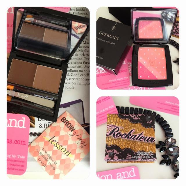 Sephora haul, Fashion and Cookies, fashion blog, Guerlain Madame Rougit blush, Benefit Rockateur, Browzings