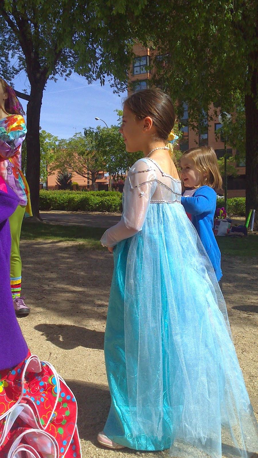 La costura de Nicoleta: Disfraz de Elsa de Frozen