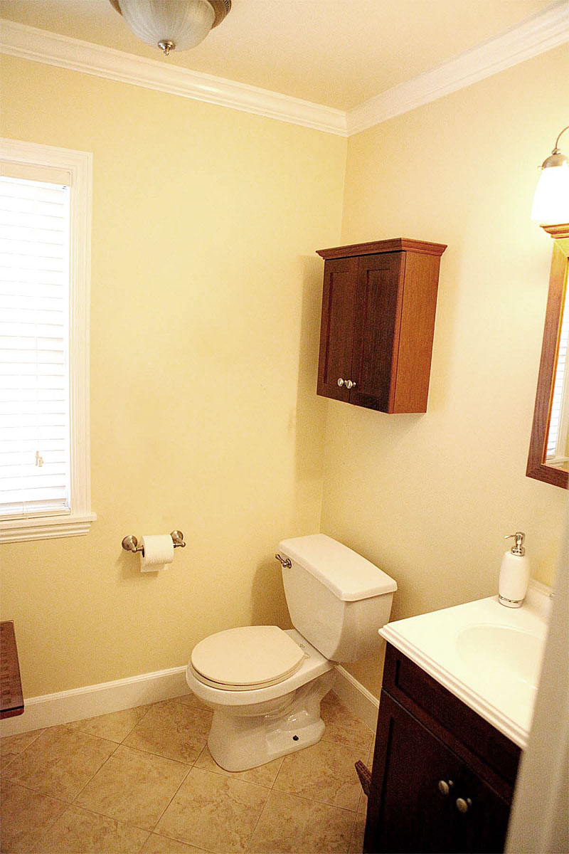 Bathroom Vanity Hack Optical Illusion With Secret Storage