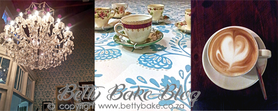 vovo telo, restaurant, cape town, coffee, vintage tea cups, chandelier, V&A Waterfront,