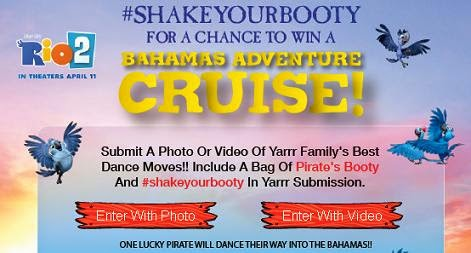 shake your booty contest banner