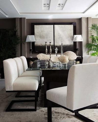 Decorole: comedor: sillas tapizadas