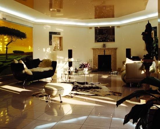 Evim in her ey stil trend afrika esintisi for African style living room design