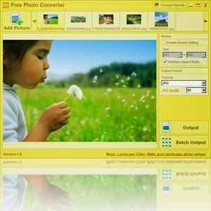 تحميل برنامج تحويل صيغ الصور Free Photo Converter مجانا