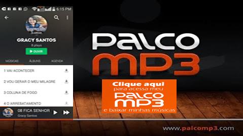 PALCO MP3 DA CANTORA GRACY SANTOS