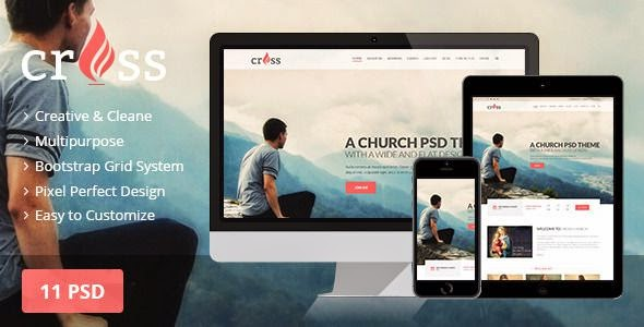 Best Premium Church PSD template