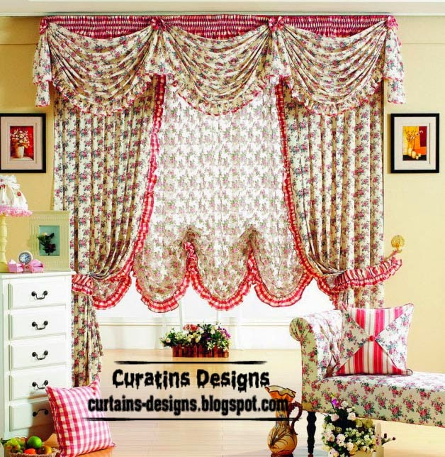 ready made curtains, modern curtain designs, patterned curtains for girls