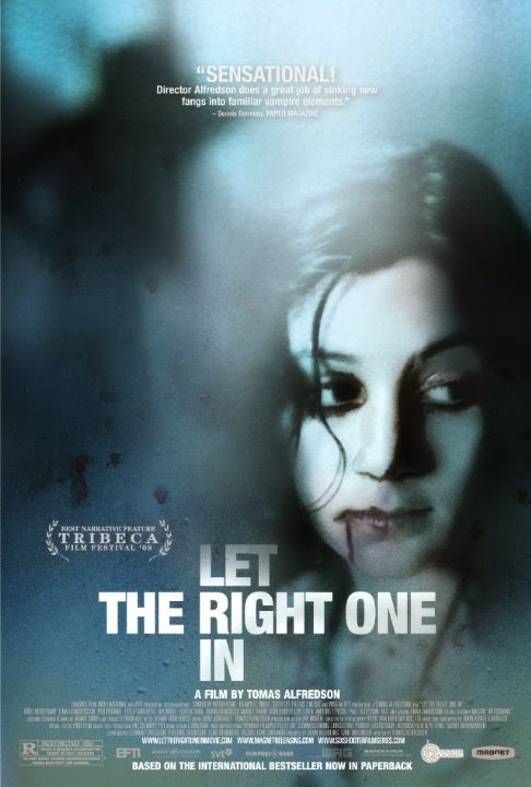 Let the right one in Swedish Movie