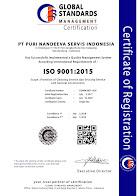 Kami Meraih Sertifikat ISO