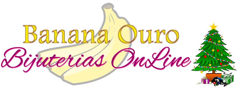 Banana Ouro Bijuterias online
