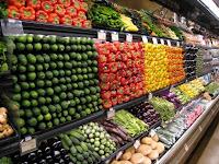Cesta vegetariana tem maior queda