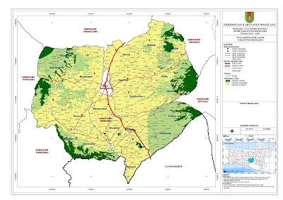 Peta Kesesuaian Lahan Kabupaten Magelang