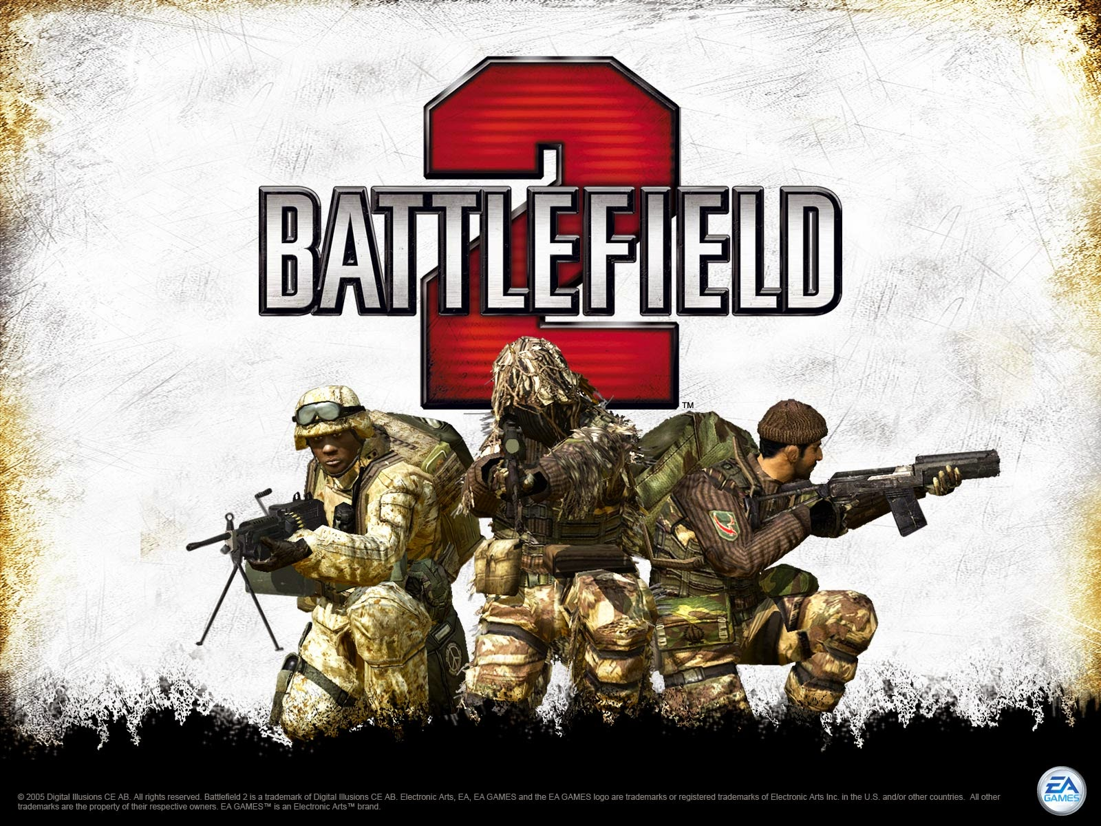 Battlefield 2 Game Cover