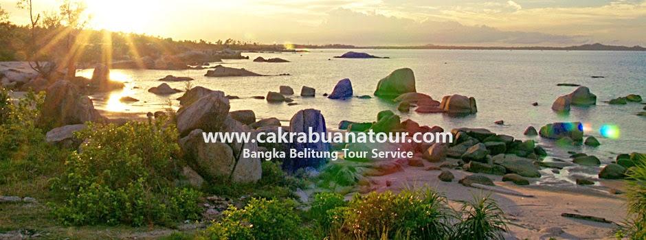 tempat wisata Pantai Teluk Uber - Bangka